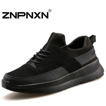 ZNPNXN Men's Fashion Casual Running Shoes Lovers Sports Shoes (Black) - Intl