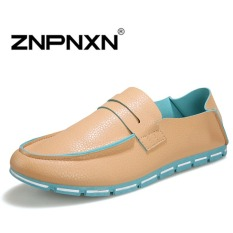 ZNPNXN Men's Fashion Loafers Shoes Lacp-up Shoes Casual Men's Shoes Fashion Shoes (Blue)