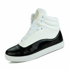 Znpnxn Men's Fashion Sneakers with High Cut (White) (Intl)