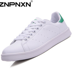 ZNPNXN Synthethic Leather Fashion Sneakers Casual Skater Shoes (Green) (Intl)