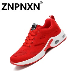 ZNPNXN Women 'S Sports Shoes Flying Sports Shoes To Increase Women' S Shoes Air Cushion Shoes(Red) - intl
