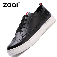 ZOQI Summer Man's Fashion Sneakers Sport Casual Breathable Comfortable Shoes-Black - Intl