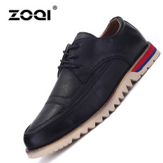 ZOQI Summer Man's Formal Low Cut Shoes Fashion Casual Comfortable Shoes-Black - Intl