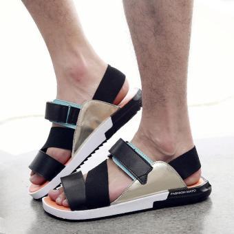 ZOQI Women's Fashion Summer Sandals Slippers Casual Shoes Beach Shoes (Orange) - intl