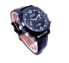 720P HD Brown SPY Watch Hidden Camera Large Dial Waterproof 8GB (Intl)