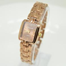 10pcs * Manufacturers wholesale summer upscale national brown square lady fashion bracelet watch watch SLB071Tan - intl