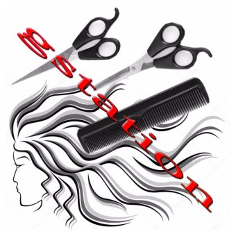 1SHOP 3in1 Alat Gunting Rambut COMB+SCISSORS