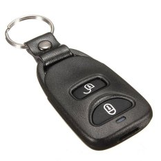 2 Button + Back Panic Remote Key Fob Shell Case For Hyundai Tucson (Intl)