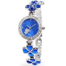 2013 Hot Sale Brand Kimio Stainess Steel Strap Leaf Clover Lady Fashion High Quality Luxury Lady