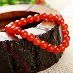 2015 New Natural Agate Bracelet Lap Couple Models Jewelry Accessories For Men And Women Natural Crystal Bracelets Wholesale Love - Natural Tourmaline Agate (Intl)