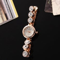 2015 Women Hot Fashion Stainless Steel Selling Clock Wrist Watches (Intl)