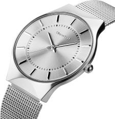 2016 Fashion Watch For Women Top Brand Luxury Quartz Watch Women Dress Watch (Silver)