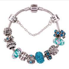 2016 Jewellery European Charm Bracelets For Women 925 Silver Chain Bracelets & Bangles DIY Jewelry Pulseras - Intl
