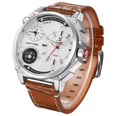 2016 Luxury Brand Fashion Casual Watch Men Quartz Leather Clock Man Sports Watches Waterproof Men's Wristwatch - Intl