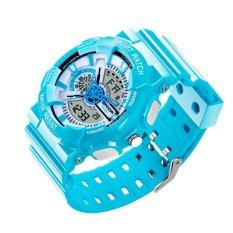 2016 New Watch Men G Style Waterproof Sports Military Watches S Shock Fashion LED Digital Watch Men (Blue) - Intl