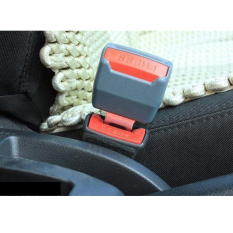 2X New Universal Car Safety Seat Belt Clip Extender Extention Buckle Gray