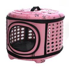 360DSC Fashion Portable Folding EVA Pet Carrier Tote Bag Outdoor Traveling Pet Handbag Kennel House for
