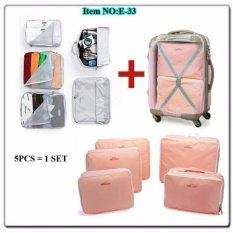 ... Duo Package Merah Abu Abu Source 5 in 1 bags in bag travelling