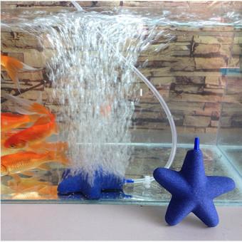... Stone Bubble For Aquarium Fish Tank HydroponicsAerator New Blue - intl