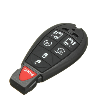 7 BNT Smart Remote Key Shell Case For Chrysler Town Country Dodge Grand Caravan