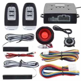 A set Remote keyless entry&push start Alarm system Remote push button start - intl