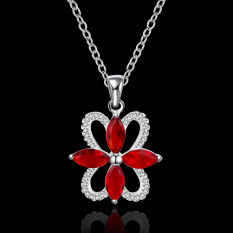 Accessories!!Ornaments Silver Plated Necklace, Silver Plated Fashion Jewelry, Popular Chain Necklace SMTN556 - Intl