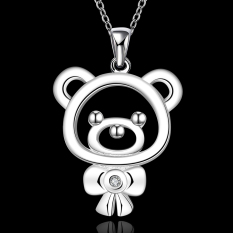 Accessories!!Ornaments Silver Plated Necklace, Silver Plated Fashion Jewelry, Popular Chain Necklace SMTN563 - Intl