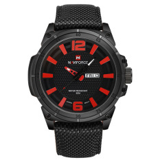 Akerfush 16 New NAVIFORCE Lxy Genuine Brand 3ATM Waterproof Mens Sport Leisure Table Calendar Watch Strap