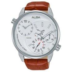Alba Active Jam Tangan - Tali Kulit - Coklat - A2A009X1