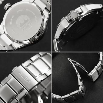 Alba Active Jam Tangan - Tali Stainless Steel - Silver - AS9C81X1