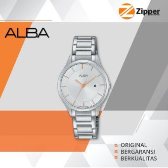 Alba Fashion Analog Jam Tangan Wanita - Tali Stainless Steel - AH7L15X1