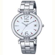 Alba - Jam Tangan Wanita - Silver - Stainless Steel - AG8435
