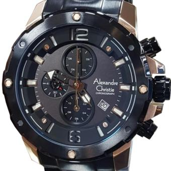 ... Stainless Leather Coklat Rosegold. Source · Alexandre Christie AC6410MC-C Jam Tangan Pria Stainless Steel Hitam Gold