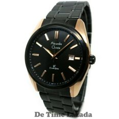 Alexandre Christie AC8514R Jam Tangan Pria Stainless Steel Hitam Rose Gold