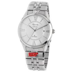 Alexandre Christie - AC8526M - Jam Tangan Pria - Stainless Steel - Silver