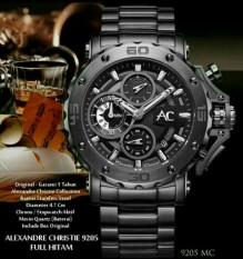 Alexandre Christie - Alexandre Christie Jam Tangan Pria - Black - 9205