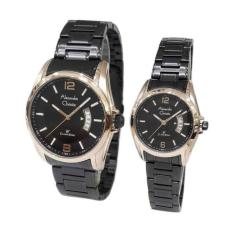 Alexandre Christie Classic Steel 8289 - Stainless Steel - Jam Tangan Couple