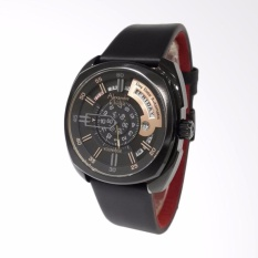 Alexandre Christie Younique Automatic Jam Tangan Pria - Black 3034MALIPBAIV