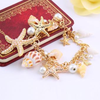 Cannice Gelang Pria Double Layer Anchor Pendant. Source · Fancyqube Kulit Source Allwin Fashion Multi