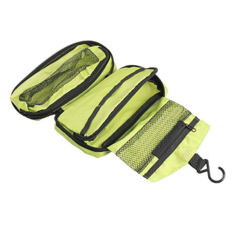 Amart Portable Hanging Multi-function Makeup Cosmetic Bag Toiletry Pouch Storage(Green) - intl