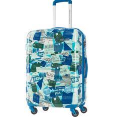 American Tourister Koper Para-Lite Spinner 66/24 TTW TSA - Blu/Mul