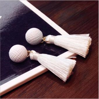 Anting Wanita Tassel Type 013 - Putih
