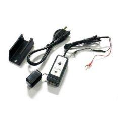 Anzena Charger HP di Motor + kabel USB - Hitam
