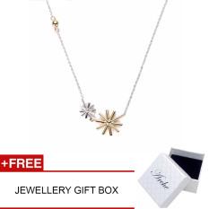 Arche Duo Descendant Of The Sun Pendant Necklace Trendy Fashion Designer Jewellery