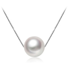 Arche Elegant Classic Pearl Pendant Necklace