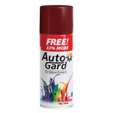 AutoGard - U67 Primer Anti Rust Paint - Undercoat Anti Karat - Coklat/Merah Tua - Premium Automotive Motorcycle Car Aerosol Premium Paint - Cat Semprot Mobil Motor Premium