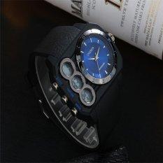 Autoleader OHSEN AD1503 Men LED Sport Casual Watch Wristwatch (Intl)