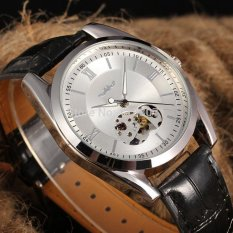 Automatic Men's Watch Skeleton Leather Band Watch - intl