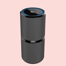 Automotive Car Air Fresheners Air Purifier Usb Car with Anion Oxygen Bar Car Air Purifie Interior Accessories (Black) - intl
