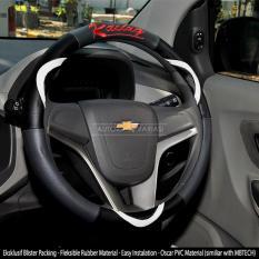 AUTORACE Cover Stir / Sarung Stir Mobil Autorace 200 Racing - Putih